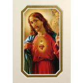 Sacred Heart of Jesus 3x5 Prayerful Mat #35MAT-SHJ(M)
