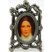 St. Therese Pewter Frame MOPF-STT