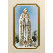 Our Lady of Fatima 3x5 Prayerful Mat #35MAT-OLF
