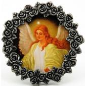 Guardian Angel Mini  Pewter Frame #MPF-GA