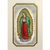Our Lady of Guadalupe 3x5 Prayerful Mat #35MAT-G