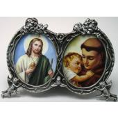 St Anthony and St Jude Desk Ornament #2305