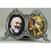 Padre Pio St. Michael Frame #2311