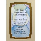 Confirmation 3x5 Prayerful Mat #35MAT-SC10