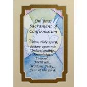 Confirmation 3x5 Prayerful Mat #35MAT-SC10