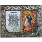 Immaculate Conception Pewter Frame #23DPF-IC