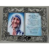 Mother Teresa Pewter Frame 23DPF-MT
