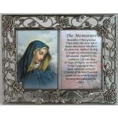 Our Lady of Sorrows Pewter Frame with prayer #23DPF-OLS