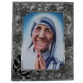Mother Teresa Pewter Frame 57PF-MT