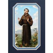 St. Francis of Assisi 3x5 Prayerful Mat #35MAT-STF