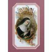 St. Rita of Cascia 3x5 Prayerful Mat #35MAT-STR