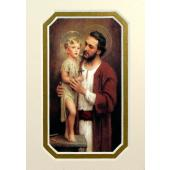 St. Joseph 3x5 Prayerful Mat #35MAT-STJOE
