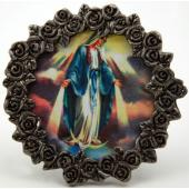 Our Lady of Grace Pewter Frame #MPF-OLG