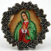 Our Lady of Guadalupe Pewter Frame #MPF-G