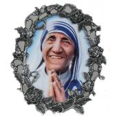 Mother Teresa 3x5 Pewter Frame 35OPF-MT