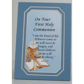 Communion  Boy 3x5 Mat #35MAT-HC5