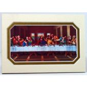 Last Supper 3x5 Prayerful Mat #35MAT-LS