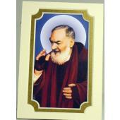 Saint Pio Gold 3x5 Mat #35MAT-PP3