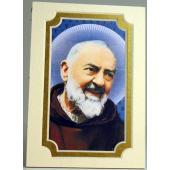 Saint Pio Gold 3x5 Mat #35MAT-PP4