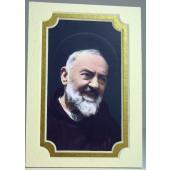 Saint Pio Gold 3x5 Mat #35MAT-PP