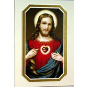 Sacred Heart of Jesus 3x5 Prayerful Mat #35MAT-SHJ7