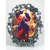 Our Lady Undoer of Knots Pewter frame 35OPF-OLK