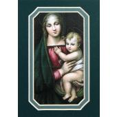 Madonna and Child 3x5 Prayerful Mat #35MAT-MC(g)