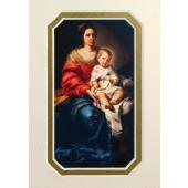 Our Lady of the Rosary 3x5 Prayerful Mat #35MAT-OLR