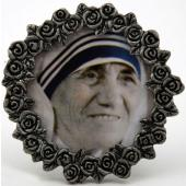 Mother Teresa Mini  Pewter Frame #MPF-MT
