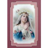 Madonna Praying 3x5 Prayerful Mat #35MAT-MP