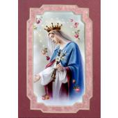 Queen of Heaven 3x5 Prayerful Mat #35MAT-QH1