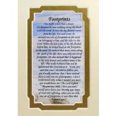 Footprints 3x5 Prayerful Mat #35MAT-FP