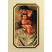 Madonna and Child 3x5 Prayerful Mat #35MAT-MC(f)