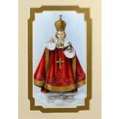 Infant of Prague 3x5 Prayerful Mat #35MAT-IRP