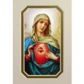 Immaculate Heart of Mary 3x5 Prayerful Mat #35MAT-IHM(M)