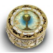 First Communion Rosary Box 498-HC5