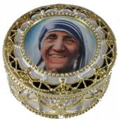 Mother Teresa Rosary Box 489-MT