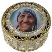 Mother Teresa Rosary Box 489-MT