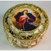 Our Lady Undoer of Knots Rosary box 489-OLK