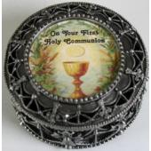 First Communion Rosary Box #4982-HC4