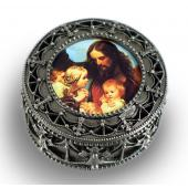 Jesus with Children Rosary Box #4892-JWC