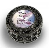 Personalized Confirmation Rosary Box  #4892-SC1-P