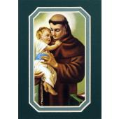 St. Anthony of Padua 3x5 Prayerful Mat #35MAT-STA