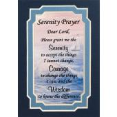 Serenity Prayer  3x5 Prayerful Mat #35MAT-SP