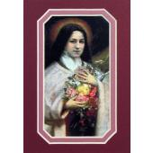 St Therese 3x5 Prayerful Mat #35MAT-STTD