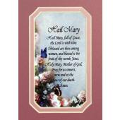 Hail Mary 3x5 Prayerful Mat #35MAT-HM