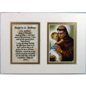 St.Anthony 5x7 Mat with Prayer #57MAT-STA