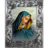 Our Lady of Sorrows 5x7 Rose Pewter Frame #57PF-OLS