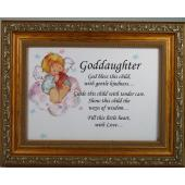 Goddaugther 5x7 Plaque #57F-GDK
