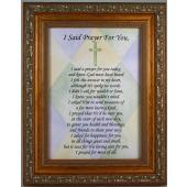 I Said A Prayer For You 5x7 Plaque #57F-ISP